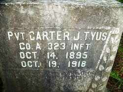 TYUS (VETERAN WWI), CARTER J. - Autauga County, Alabama | CARTER J. TYUS (VETERAN WWI) - Alabama Gravestone Photos