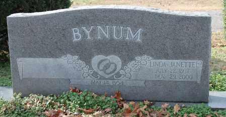 BYNUM, LINDA JANETTE - Blount County, Alabama | LINDA JANETTE BYNUM - Alabama Gravestone Photos