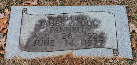 PANNELL, JAMES A 'DOC' - Blount County, Alabama | JAMES A 'DOC' PANNELL - Alabama Gravestone Photos