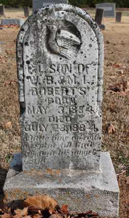 ROBERTS, C L - Blount County, Alabama | C L ROBERTS - Alabama Gravestone Photos