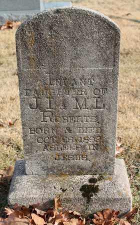 ROBERTS, INFANT - Blount County, Alabama | INFANT ROBERTS - Alabama Gravestone Photos