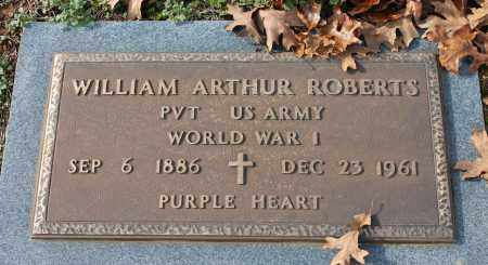 ROBERTS (VETERAN WWI), WILLIAM ARTHUR - Blount County, Alabama | WILLIAM ARTHUR ROBERTS (VETERAN WWI) - Alabama Gravestone Photos