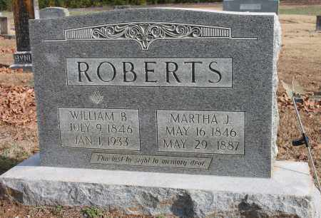 ROBERTS, MARTHA J - Blount County, Alabama | MARTHA J ROBERTS - Alabama Gravestone Photos