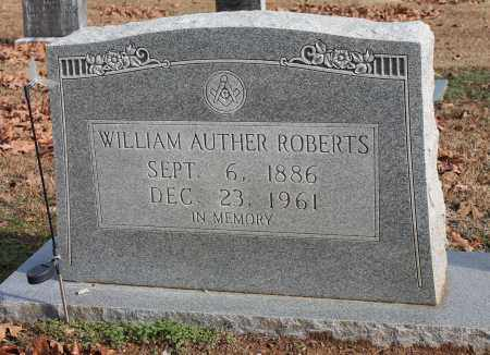 ROBERTS, WILLIAM AUTHER - Blount County, Alabama | WILLIAM AUTHER ROBERTS - Alabama Gravestone Photos