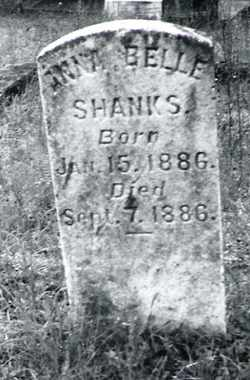 SHANKS, ANNA BELLE - Butler County, Alabama | ANNA BELLE SHANKS - Alabama Gravestone Photos