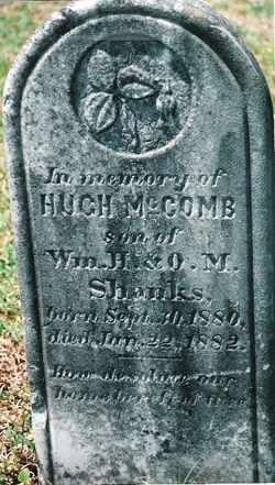 SHANKS, HUGH MCCOMB - Butler County, Alabama   HUGH MCCOMB SHANKS - Alabama Gravestone Photos