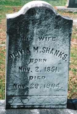 SHANKS, OLIVIA MOORER - Butler County, Alabama | OLIVIA MOORER SHANKS - Alabama Gravestone Photos