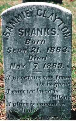 SHANKS, SAMMIE CLAYTON - Butler County, Alabama | SAMMIE CLAYTON SHANKS - Alabama Gravestone Photos