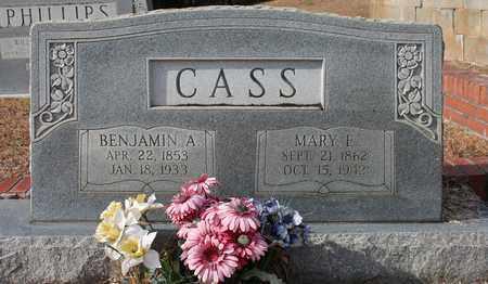CASS, BENJAMIN A - Calhoun County, Alabama | BENJAMIN A CASS - Alabama Gravestone Photos