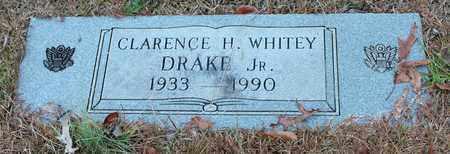 DRAKE, JR, CLARENCE H WHITEY - Calhoun County, Alabama | CLARENCE H WHITEY DRAKE, JR - Alabama Gravestone Photos