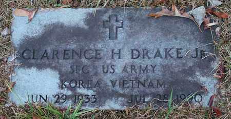 DRAKE, JR (VETERAN 2 WARS), CLARENCE H - Calhoun County, Alabama | CLARENCE H DRAKE, JR (VETERAN 2 WARS) - Alabama Gravestone Photos