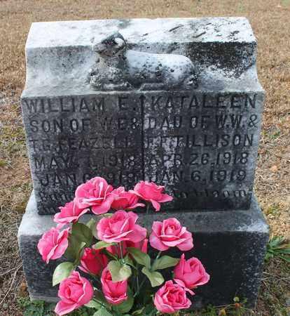 TILLISON, KATALEEN - Calhoun County, Alabama | KATALEEN TILLISON - Alabama Gravestone Photos
