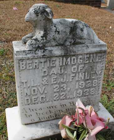 FINLEY, BERTIE IMOGENE - Calhoun County, Alabama | BERTIE IMOGENE FINLEY - Alabama Gravestone Photos