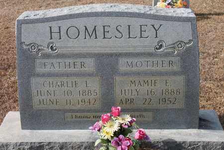 HOMESLEY, CHARLIE L - Calhoun County, Alabama | CHARLIE L HOMESLEY - Alabama Gravestone Photos