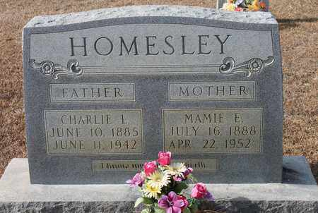 HOMESLEY, CHARLIE L - Calhoun County, Alabama | CHARLIE L HOMESLEY - Alabama Gravestone Photos