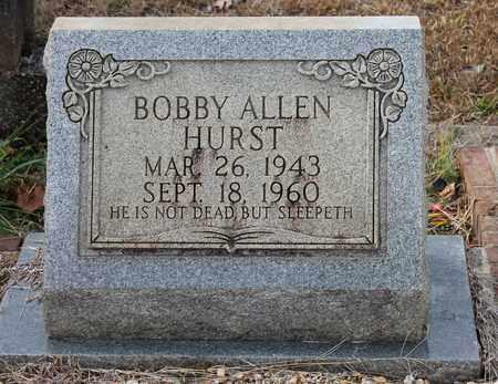 HURST, BOBBY ALLEN - Calhoun County, Alabama | BOBBY ALLEN HURST - Alabama Gravestone Photos