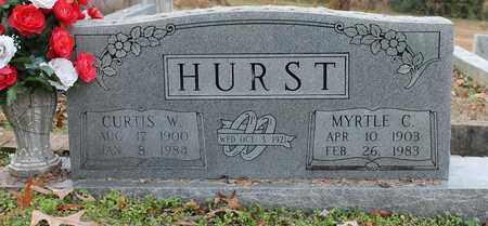 HURST, CURTIS W - Calhoun County, Alabama   CURTIS W HURST - Alabama Gravestone Photos