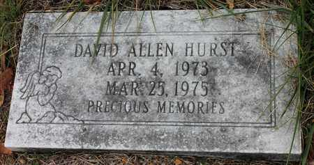 HURST, DAVID ALLEN - Calhoun County, Alabama | DAVID ALLEN HURST - Alabama Gravestone Photos