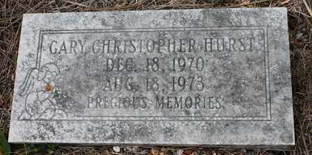 HURST, GARY CHRISTOPHER - Calhoun County, Alabama | GARY CHRISTOPHER HURST - Alabama Gravestone Photos