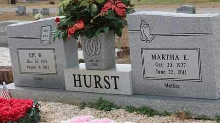 HURST, MARTHA E - Calhoun County, Alabama | MARTHA E HURST - Alabama Gravestone Photos