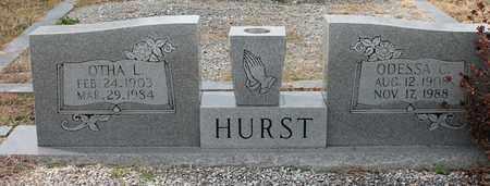 HURST, OTHA L - Calhoun County, Alabama | OTHA L HURST - Alabama Gravestone Photos