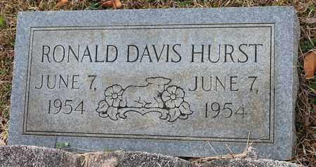 HURST, RONALD DAVIS - Calhoun County, Alabama   RONALD DAVIS HURST - Alabama Gravestone Photos