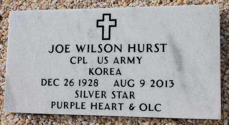 HURST (VETERAN KOR), JOE WILSON - Calhoun County, Alabama   JOE WILSON HURST (VETERAN KOR) - Alabama Gravestone Photos
