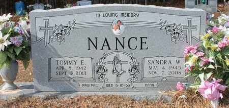 NANCE, SANDRA W - Calhoun County, Alabama | SANDRA W NANCE - Alabama Gravestone Photos