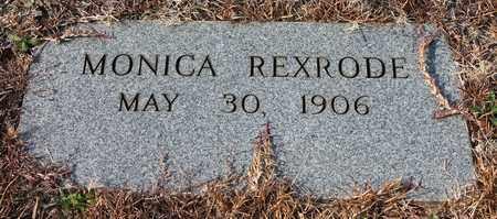 REXRODE, MONICA - Calhoun County, Alabama | MONICA REXRODE - Alabama Gravestone Photos