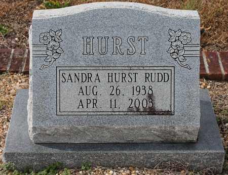 HURST RUDD, SANDRA - Calhoun County, Alabama | SANDRA HURST RUDD - Alabama Gravestone Photos