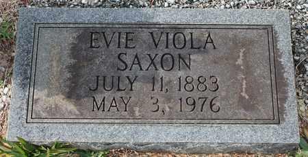 SAXON, EVIE VIOLA - Calhoun County, Alabama | EVIE VIOLA SAXON - Alabama Gravestone Photos