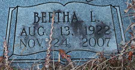 TILLISON (CLOSEUP), BERTHA L - Calhoun County, Alabama | BERTHA L TILLISON (CLOSEUP) - Alabama Gravestone Photos