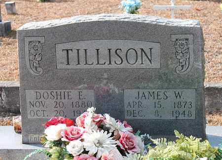 TILLISON, JAMES W - Calhoun County, Alabama | JAMES W TILLISON - Alabama Gravestone Photos