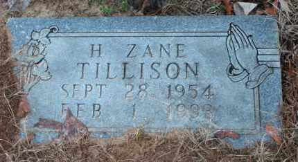 TILLISON, H ZANE - Calhoun County, Alabama   H ZANE TILLISON - Alabama Gravestone Photos