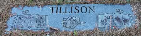 "TILLISON, HERMAN ""DOC"" - Calhoun County, Alabama | HERMAN ""DOC"" TILLISON - Alabama Gravestone Photos"