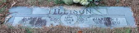TILLISON, JAMES H - Calhoun County, Alabama   JAMES H TILLISON - Alabama Gravestone Photos