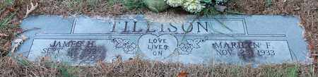 TILLISON, JAMES H - Calhoun County, Alabama | JAMES H TILLISON - Alabama Gravestone Photos