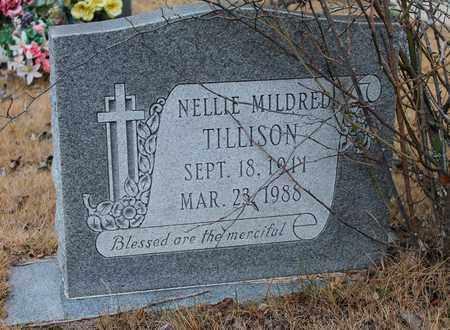 TILLISON, NELLIE MILDRED - Calhoun County, Alabama | NELLIE MILDRED TILLISON - Alabama Gravestone Photos