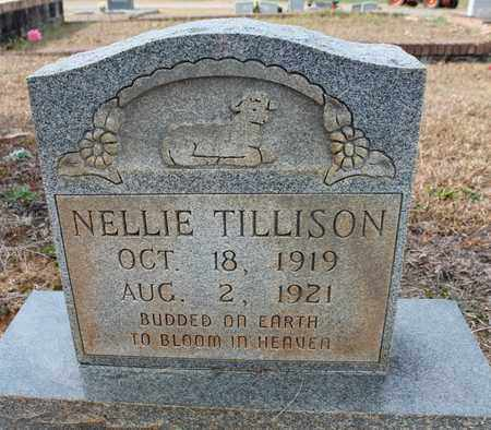 TILLISON, NELLIE - Calhoun County, Alabama | NELLIE TILLISON - Alabama Gravestone Photos