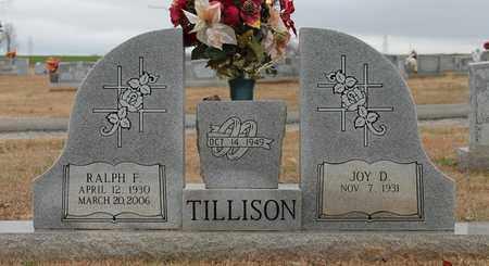 TILLISON, RALPH F - Calhoun County, Alabama | RALPH F TILLISON - Alabama Gravestone Photos