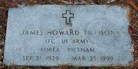 TILLISON (VETERAN 2 WARS), JAMES HOWARD - Calhoun County, Alabama | JAMES HOWARD TILLISON (VETERAN 2 WARS) - Alabama Gravestone Photos