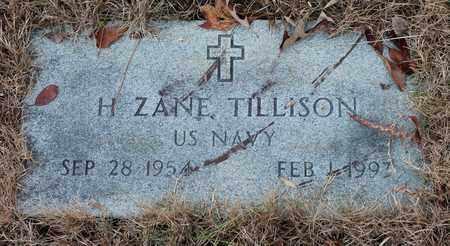 TILLISON (VETERAN), H ZANE - Calhoun County, Alabama | H ZANE TILLISON (VETERAN) - Alabama Gravestone Photos