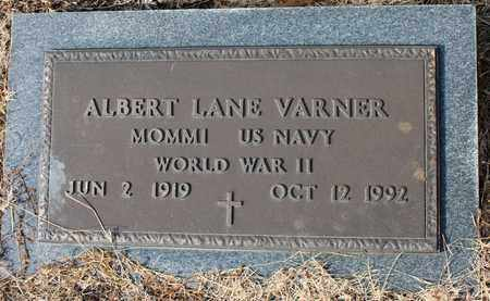 VARNER (VETERAN WWII), ALBERT LANE - Calhoun County, Alabama | ALBERT LANE VARNER (VETERAN WWII) - Alabama Gravestone Photos
