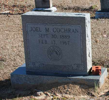 COCHRAN, JOEL M - Cherokee County, Alabama | JOEL M COCHRAN - Alabama Gravestone Photos