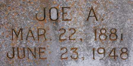 COTHRAN (CLOSEUP), JOE A - Cherokee County, Alabama | JOE A COTHRAN (CLOSEUP) - Alabama Gravestone Photos