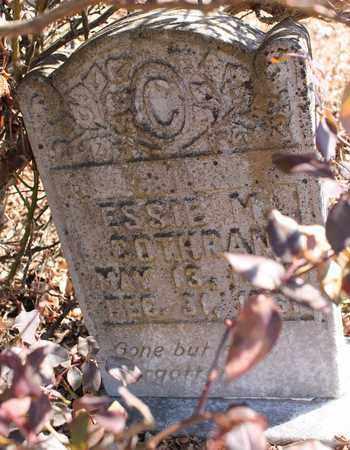 COTHRAN, ESSIE M - Cherokee County, Alabama | ESSIE M COTHRAN - Alabama Gravestone Photos
