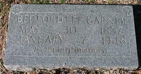 GARNER, BEDFORD LEE - Cherokee County, Alabama | BEDFORD LEE GARNER - Alabama Gravestone Photos