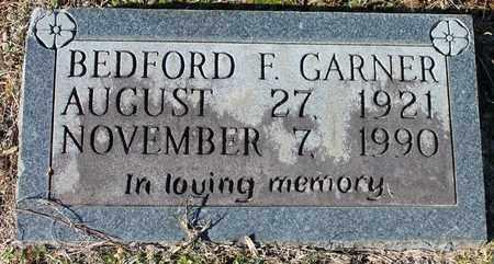 GARNER, BEDFORD F - Cherokee County, Alabama | BEDFORD F GARNER - Alabama Gravestone Photos
