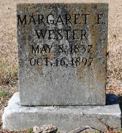 WESTER, MARGARET E - Cherokee County, Alabama | MARGARET E WESTER - Alabama Gravestone Photos