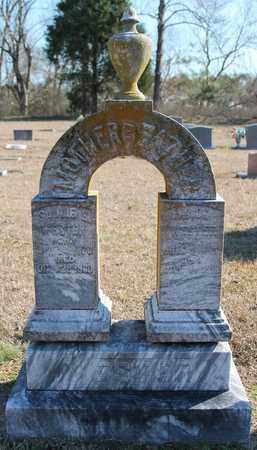 WESTER, SALLIE E - Cherokee County, Alabama | SALLIE E WESTER - Alabama Gravestone Photos